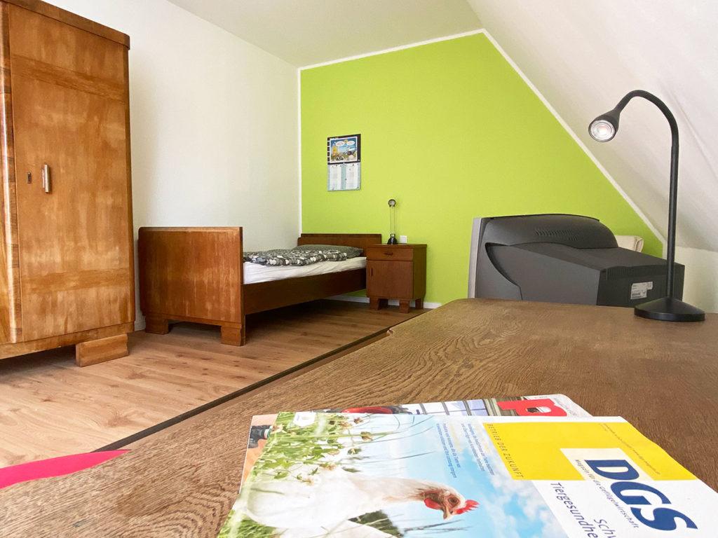 Hof Beckhove Azubi Zimmer