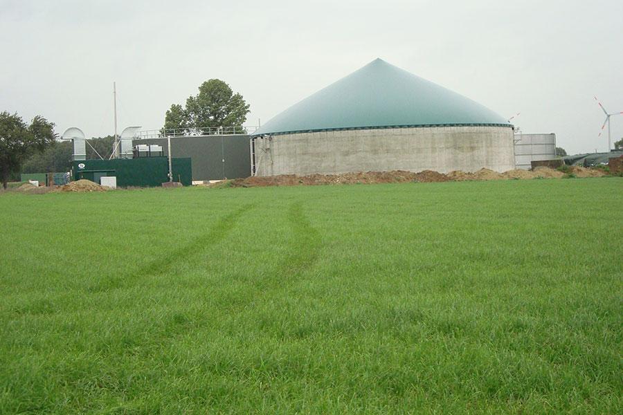 Biogas Anlage Hof Beckhove